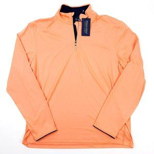 POLO GOLF RALPH LAUREN Men's Orange Zip Jacket NEW